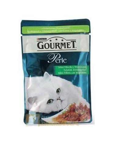 Gourmet Perle Dziczyzna z warzywami saszetka 85g
