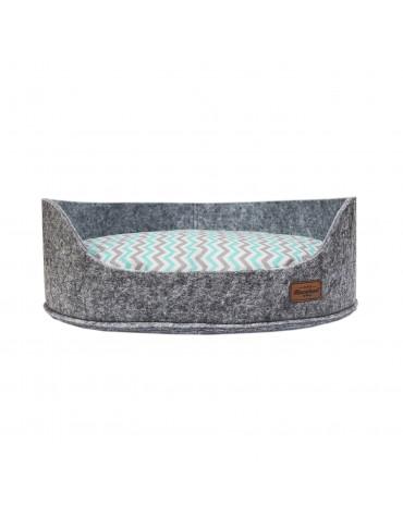 Sofa filc z poduszką Crete mint