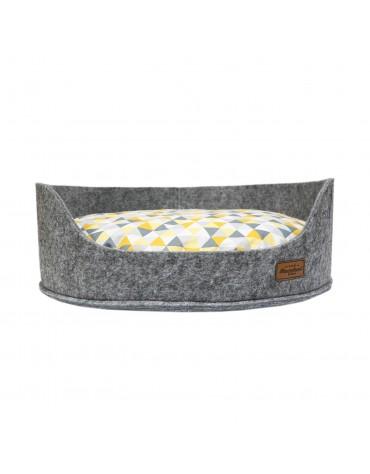 Sofa filc z poduszką Aral