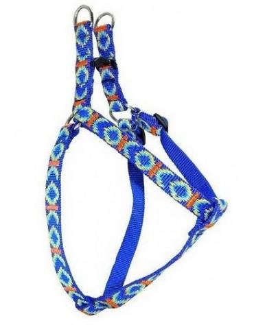 CHABA Szelki taśma ozdobne nr 1 - obwód 40cm niebieskie