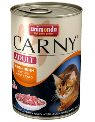 Animonda Carny Adult Wołowina + Kurczak puszka 400g
