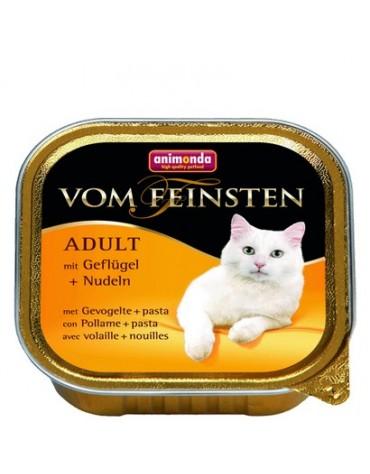 Animonda vom Feinsten Cat Adult z Drobiem i Makaronem tacka 100g