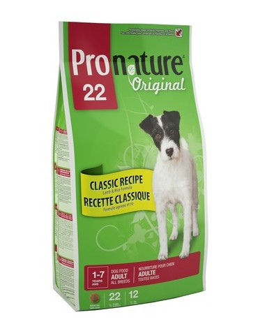 Pronature Original Adult Classic Recipe All Breed Jagnięcina i ryż 13kg