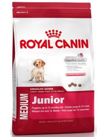 Royal Canin Medium Puppy karma sucha dla szczeniąt, od 2 do 12 miesiąca, ras średnich 15kg