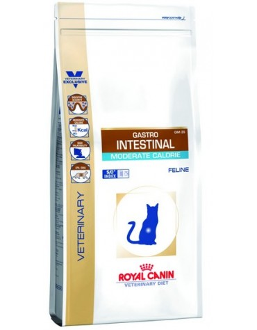 Royal Canin Veterinary Diet Feline Gastro Intestinal Moderate Calorie 2kg