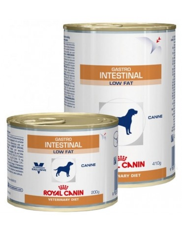 Royal Canin Veterinary Diet Canine Gastro Intestinal Low Fat puszka 410g