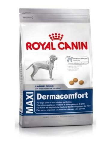 Royal Canin Maxi Dermacomfort karma sucha dla psów dorosłych, ras dużych o wrażliwej skórze 12kg