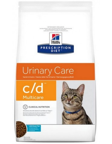 Hill's Prescription Diet c/d Feline z Rybami Morskimi 1,5kg