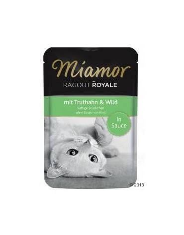 Miamor Ragout Royale z Indykiem i Dziczyzną w sosie saszetka 100g