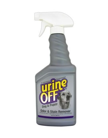 Urine Off Dog & Puppy Odor & Stain Remover - do usuwania plam moczu 500ml