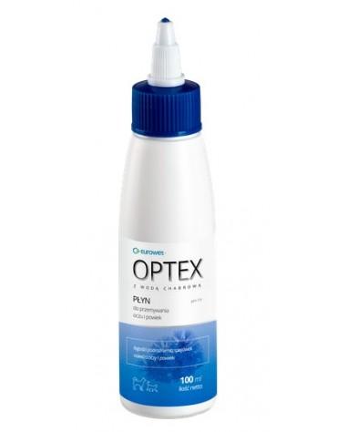 Optex - Płyn do przemywania oczu i powiek psa lub kota 100ml