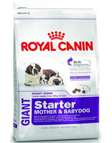 Royal Canin Giant Starter Mother&Babydog karma sucha dla szczeniąt do 2 miesiąca i suk karmiących ras olbrzymich 15kg