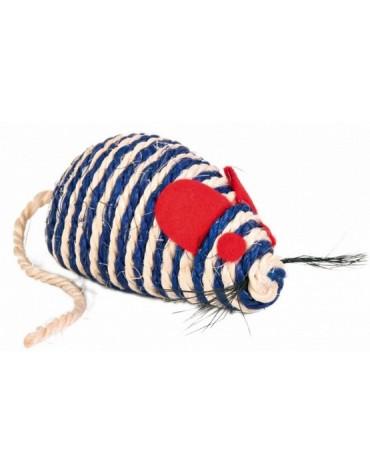 Trixie Mysz z sizalu 10cm [TX-4074]