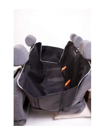 Kardiff Kardimata Anti Slip z bokami 123x154 czarna - mata samochodowa na tylne fotele