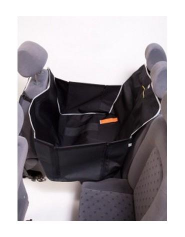Kardiff Kardimata Anti Slip Mini 70x160 czarna - mata samochodowa na połowę tylnego fotela