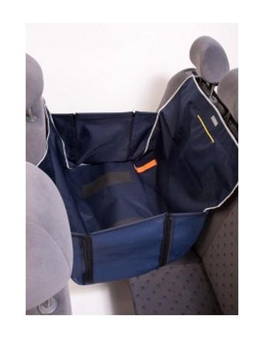 Kardiff Anti Slip Mini 1/2 Mata samochodowa na połowę tylnego fotela granatowa