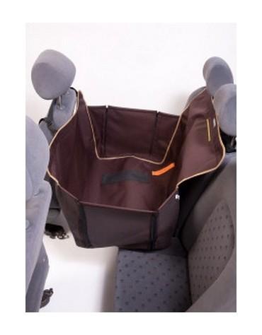 Kardiff Kardimata Anti Slip Mini 70x160 brązowa - mata samochodowa na połowę tylnego fotela