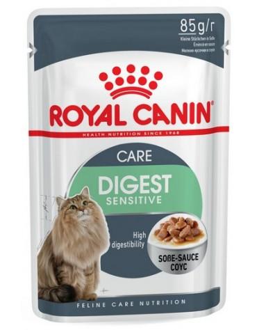 Royal Canin Digest Sensitive karma mokra w sosie dla kotów dorosłych, wrażliwy przewód pokarmowy saszetka 85g