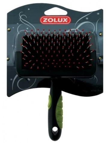 Zolux Zgrzebło-szczotka średnia [470714]