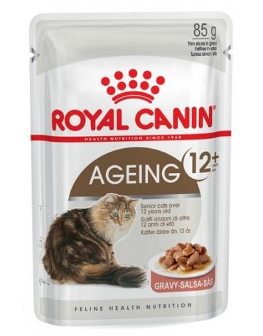 Royal Canin Ageing +12 karma mokra w sosie dla kotów dojrzałych saszetka 85g