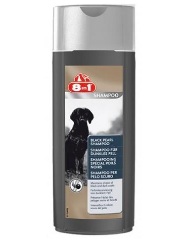 8in1 Black Pearl Shampoo - Szampon dla psów o ciemnym umaszczeniu 250ml