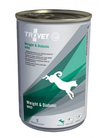 Trovet WRD Weight & Diabetic dla psa puszka 400g