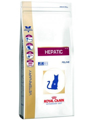 Royal Canin Veterinary Diet Feline Hepatic HF26 2kg