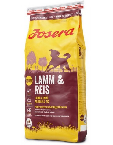 Josera Adult Lamb & Rice 15kg