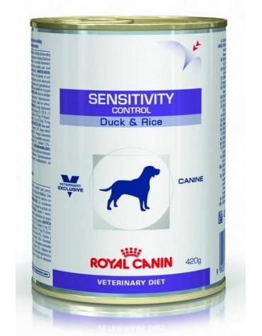 Royal Canin Veterinary Diet Canine Sensitivity Control z kaczką puszka 420g
