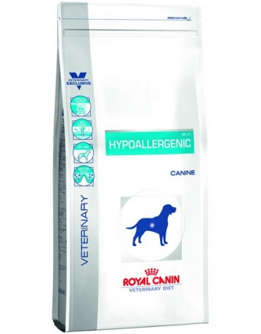 Royal Canin Veterinary Diet Canine Hypoallergenic DR21 14kg