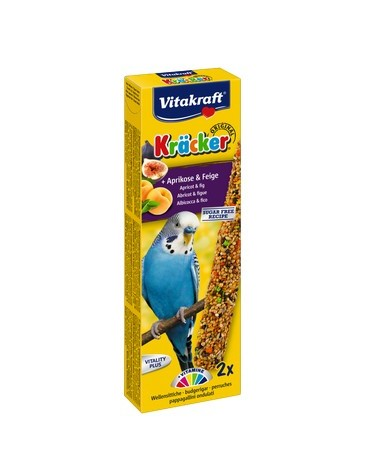 Vitakraft Kracker 2szt Papuga falista Owocowy 60g [10610]