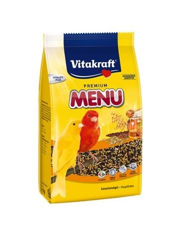 Vitakraft Menu Vital Kanarek - Miodowa 1kg [21450]