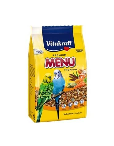 Vitakraft Menu Vital Papuga falista - Miodowa 1kg [21444]