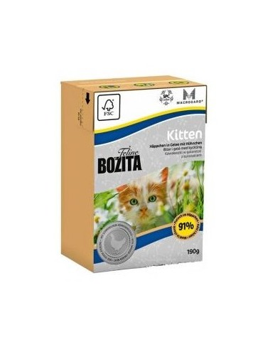 Bozita Cat Tetra Recart Feline Kitten 190g