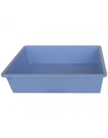 Stefanplast Kuweta 2 - 50x35x12cm błękitna [96648]