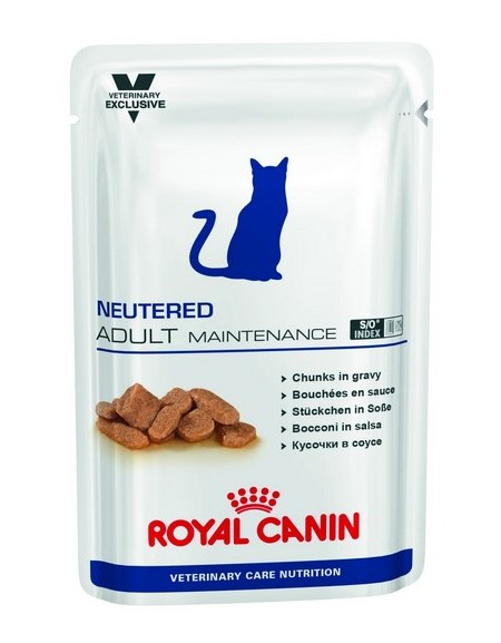 Royal Canin Veterinary Care Nutrition Neutered Adult Maintenance saszetka 100g