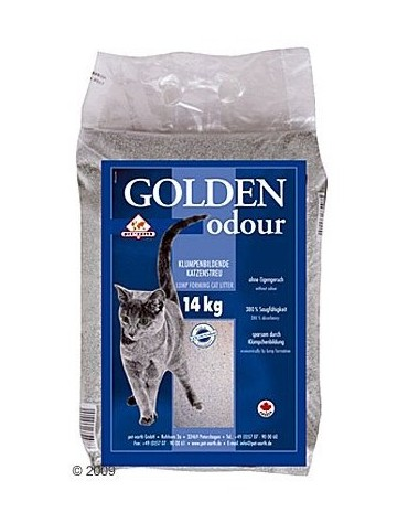 Żwirek Golden Grey Odour 14kg