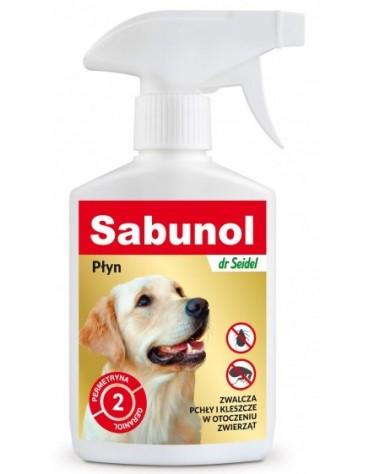 Sabunol Płyn do zwalczania pcheł w otoczeniu zwierząt 300ml
