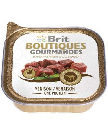 Brit Boutiques Gourmandes Venision One Meat - Sarnina 150g