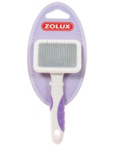 Zolux Zgrzebło-Szczotka Plastik dla kota - mała [481123]