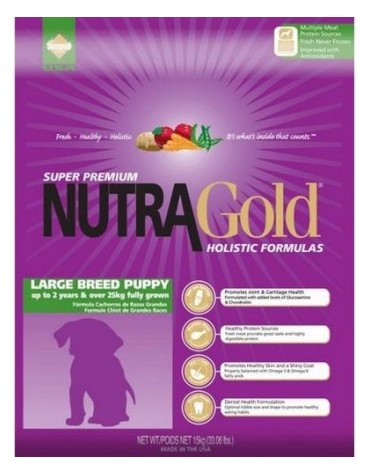 Nutra Gold Holistic Large Breed Puppy Dog 15kg