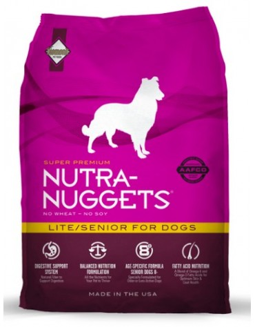 Nutra Nuggets Lite/Senior Dog 3kg