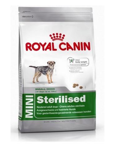 Royal Canin Mini Sterilised karma sucha dla psów dorosłych, ras małych, sterylizowanych 8kg
