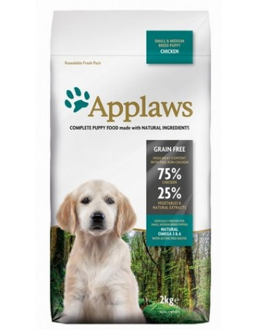 Applaws Puppy Small & Medium Breed Kurczak 2kg